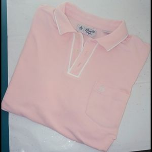 Original penguin light pink polo shirt